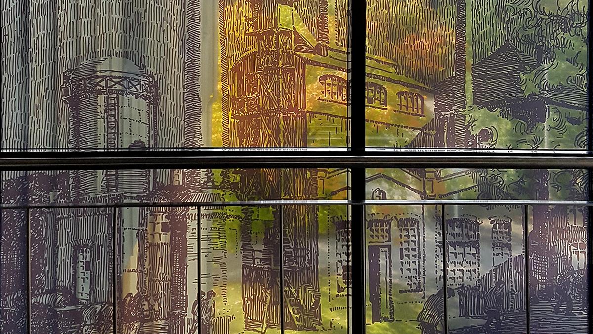 Fenster-Digitaldruck