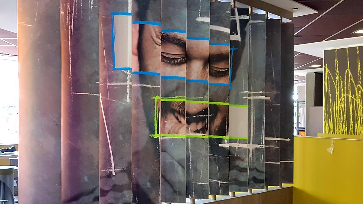 Trennwand-Digitaldruck